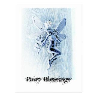 Fairy Blessings Postcard