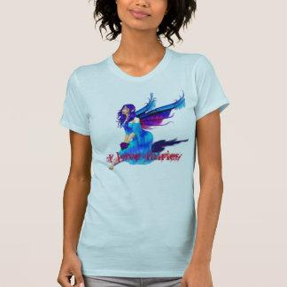 fairy-blue_gif, amo a hadas camiseta