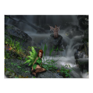 Fairy Brook Poster