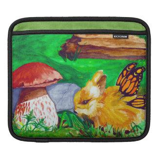 Fairy Bunny Watercolor iPad Sleeve