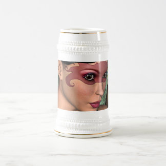 Fairy Butterfly Beer Stein