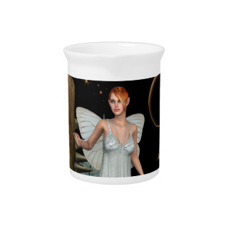 Fairy Butterfly Beverage Pitcher