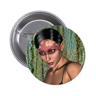 Fairy Butterfly Button