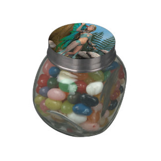 Fairy Butterfly Jelly Belly Candy Jar