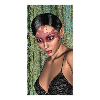 Fairy Butterfly Custom Photo Card