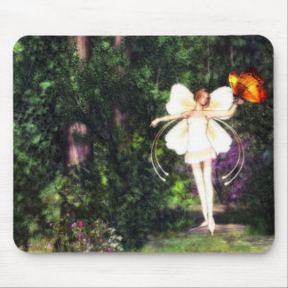 Fairy Butterfly Dance Mouse pad