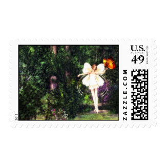 Fairy Butterfly Dance postage