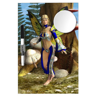 Fairy Butterfly Dry Erase Board With Mirror