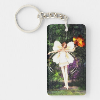 Fairy Butterfly key chain