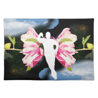 fairy butterfly man placemat