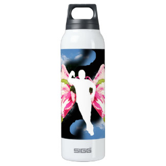 fairy butterfly man 16 oz insulated SIGG thermos water bottle