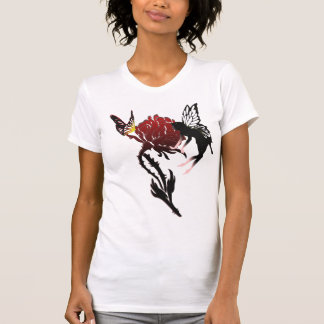 Fairy & Butterfly on Rose top