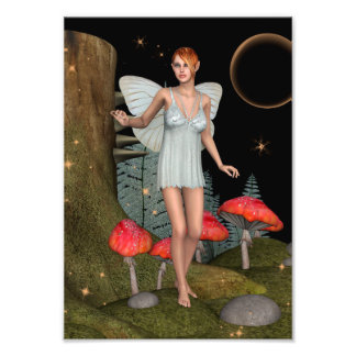 Fairy Butterfly Photo Print