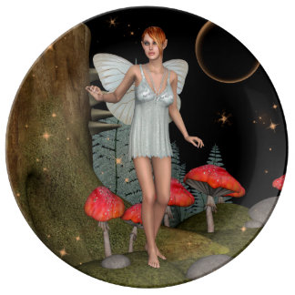 Fairy Butterfly Plate
