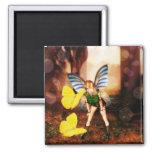Fairy Butterfly talk Magnet