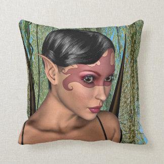 Fairy Butterfly Throw Pillow