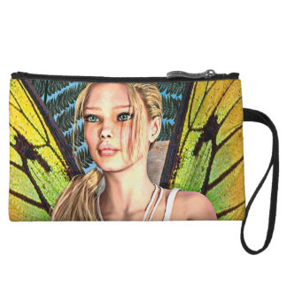 Fairy Butterfly Wristlet Wallet