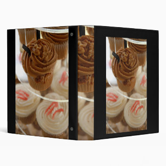 Fairy cakes 3 ring binder