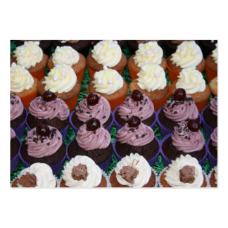 Fairy cakes large business cards (Pack of 100)