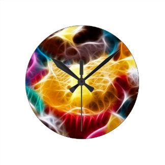 Fairy Cakes Round Wall Clock