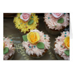 Fairy cakes greeting card