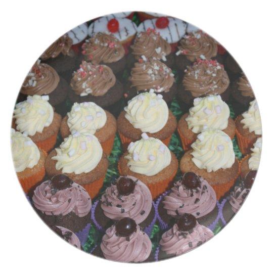 Fairy cakes melamine plate