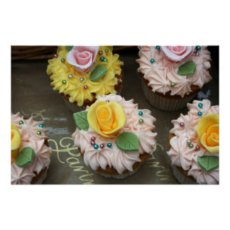 Fairy cakes poster