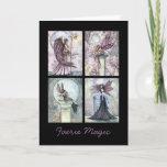 Fairy Card Faerie magic Greeting Card