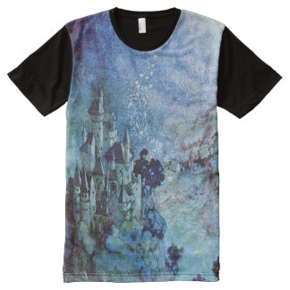 Fairy Castle Full Print Tshirt