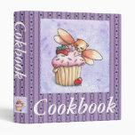 Fairy Cat And Cupcake Cookbook Binder