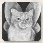Fairy Cat Cork Coaster