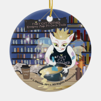 Fairy Cat Mother (from The Pride Cartoon) ornament