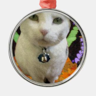 Fairy Cat Premium Round Ornament