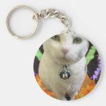 Fairy Cat Round Keychain