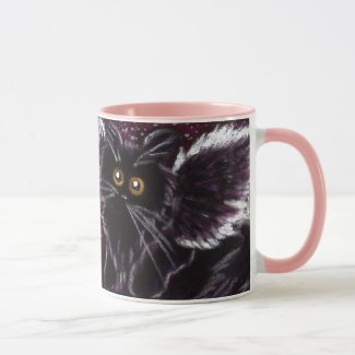 Fairy Cat Scaredy Cat Mug