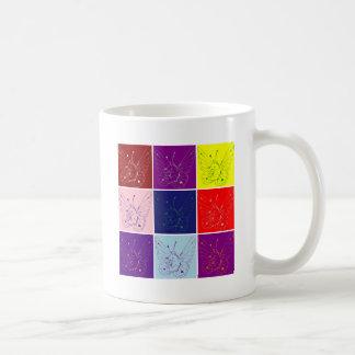 Fairy Cat Tiles Artwork Coffee Mug