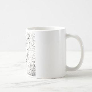 Fairy Cat W Butterfly Coffee Mug