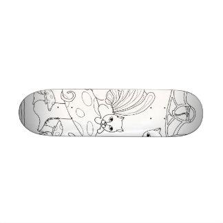 Fairy Cats and Mushroom Skateboards