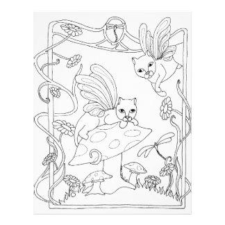 Fairy Cats N Mushroom Flyer