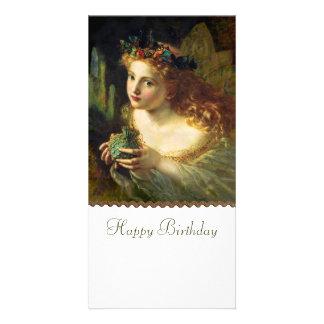 Fairy CC0164 Birthday Photo Card