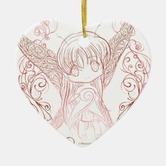 Fairy Ceramic Ornament