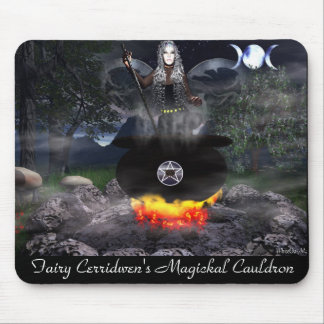 Fairy Cerridwen Mouse Pad