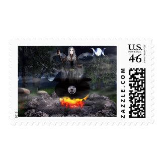 Fairy Cerridwen Stamp