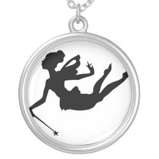 Fairy Charms - Godmother Round Pendant Necklace