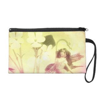 Fairy child dream garden wrist bag
