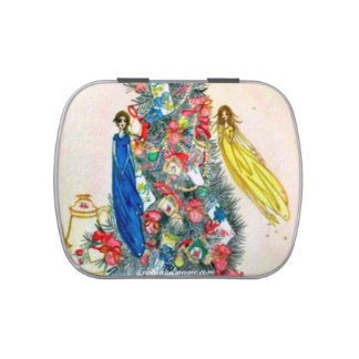 Fairy Christmas Candy Jelly Belly Tin