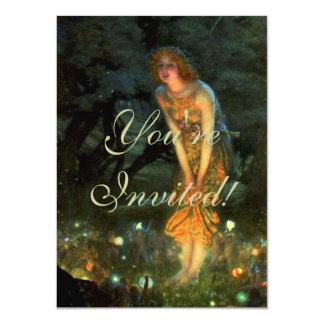 Fairy Circle Fairies Midsummer Eve Card