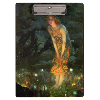Fairy Circle Fairies Midsummer Eve Clipboard