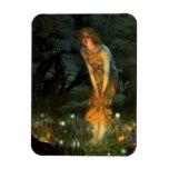 Fairy Circle Fairies Midsummer Eve Flexible Magnet