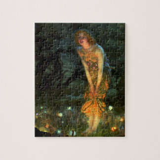 Fairy Circle Fairies Midsummer Eve Jigsaw Puzzle